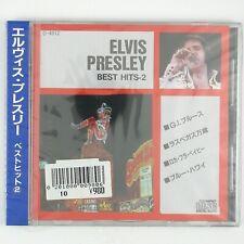 ELVIS PRESLEY Best Hits - 2.  CD ROCK (SEALED/UNPLAYED) JAPAN PRESSING
