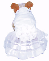 "Pet Palace® ""Wedding Belle"" Dog Dress for weddings and special occasions"