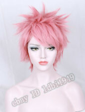 Fairy Tail Natsu Dragneel Short Anime Cosplay Costume Wig Prince Gumball  Wig