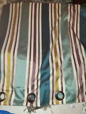 Curtains 65x72 teal mix