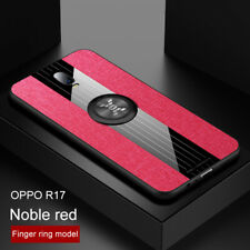 For OPPO Reno plus R17 Pro Finger Ring Slim Business Back Case Protective Cover