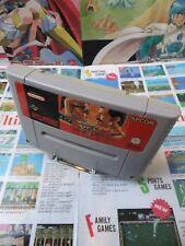 Super Nintendo SNES:Final Fight [TOP CAPCOM & 1ERE EDITION RARE] SEUL - Fr