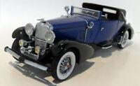 Franklin Mint 1/24 Scale Diecast - B11RU77 1933 Duesenberg J Dark blue