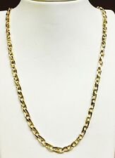 """14k Solid Yellow Gold Anchor Mariner chain/necklace 4 MM 33 Grams 26"""""""