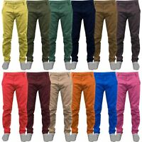 New Mens Kushiro City Slim Fit Chinos Trousers Summer Pants Jeans Straight Leg