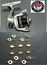 Beaver Dam Ice Spinning Reel/Walleye Ice Kit- eBay Exclusive Spoons, Jigs L@K!