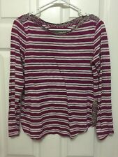Anthropologie Postmark Striped Blouse Size Small
