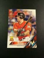 2016 Topps # 666 J.T. REALMUTO ROOKIE Future Star RC Florida Marlins HOT $$ LOOK