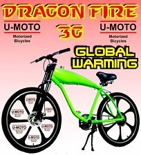New Gas Tank Bike For 2-Stroke 66Cc/80Cc Motorized Bike Kit