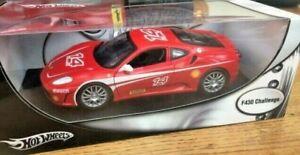 MATTEL HOT WHEELS P4403 FERRARI F430 CHALLENGE race car 14 Sabelt 2005 1:18th
