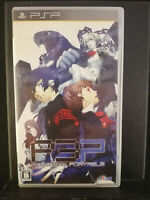 Persona 3 - PSP Playstation Portable - 2009 - Atlus - Japan Import