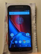Motorola Moto G4 Plus 64Gb 4Gb Ram (Xt1644) Black Gsm Unlocked Free Shipping