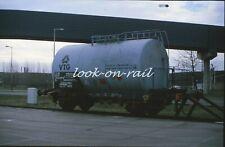 N1212 - Dia slide 35mm original Eisenbahn Holland, FS VTG Kesselwagen, '80s