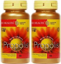 Propolis 1000mg - 90 Caps X 2 pots 180 caps in total - Bee Health