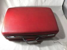 Red American Tourister Hard Shell Suitcase Red Tiara 17 X 24