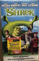 Shrek VHS Tape 2001 Special Edition Videocassette