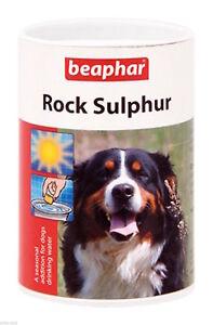 Beaphar Rock Sulphur, Seasonal addition for dogs drinking water, 100g.