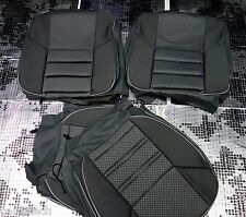 Mercedes-Benz  190E W201 SEAT COVERS Jacquard and leatherette