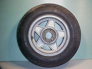 Ferrari 365 Wheel Rim_Michelin Tire_Daytona CHROMODORA GTB4 GTC4 365 GT4 BB OEM
