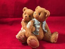 Enesco 1995 Cherished Teddies Seth & Sarabeth We're Beary Good Pals #7009/575