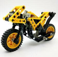 LEGO 10 x Technic pietra 3702 fori travi NERO 1x8 7 fori