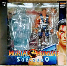 Storm Collectibles Sub-Zero Unmasked Action Figure Mortal Kombat 7 Inch In Stock