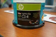 HP 17PK COLOR LightScribe CD-R 52x 700MB 80min