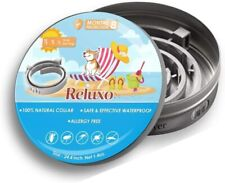 Reluxo Dog, Puppy Collar, Adjustable Small, Large, Waterproof, Flea and Tick