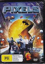 Pixels - DVD (Brand New Sealed) Regions 2,4 & 5