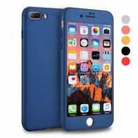 Apple iPhone 8 Plus Case, 360 Full Body Protection Hard Non Slip Matte Surface