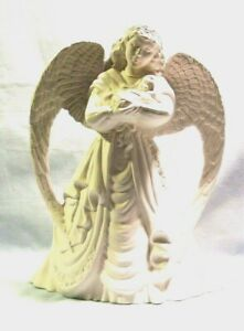 Bisque J*461 -46.989 Ceramic Ready to Paint  Angel of LOVE FIGURINE