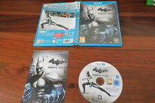 BATMAN ARKHAM CITY  ARMORED EDITION            -----   pour WII U