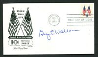 George C Wallace (d. 1998) signed autograph FDC 45th Governor of Alabama PC031