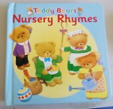TEDDY BEARS NURSERY RHYMES BACKPACK BOARD BOOK JUVENILE