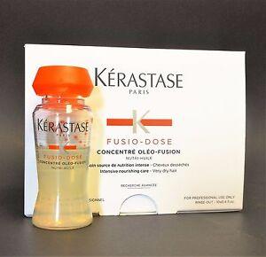 KERASTASE FUSIO DOSE CONCENTRE OLEO FUSION 10 x 12ml VIALS, WITH SPRAYER