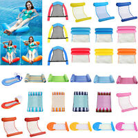 Inflatable Floating Water Hammock Float Bed Swimming Pool Chair for Kid Adult