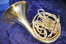 "1919-1930 H.N. White Co.""American Standard""(King)Schmidt Wrap Double French Horn"