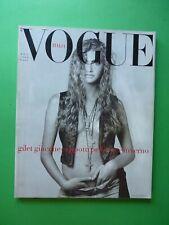 VOGUE Italia Novembre 1988 463 November Michaela Bercu Naomi Campbell Pellicce