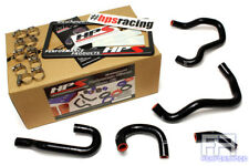 HPS Reinforced Silicone Heater Hose Kit For 06-09 S2000 AP2 LHD *By Wire* Black