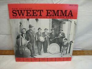New Orleans' Sweet Emma Preservation Hall Jazz Band LP Vinyl Record VPH