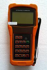 New TUF-2000H-TS-2(DN15-100mm) Digital Handheld Ultrasonic Flow Meter Flowmeter