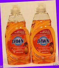 2 Dawn Antibacterial Hand Soap ORANGE SCENT Dishwashing Liquid *DUCK* 10.3 oz ea
