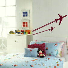 Giant fighter jet red arrows wall art sticker huge vinyl transfer graphic x07