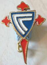 CELTA DE VIGA Vintage Club crest type badge Brooch pin 20mm x 27mm