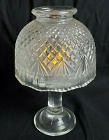 NEW  Clearview Glass TEALITE Lamp PARTYLITE P0336 Holder