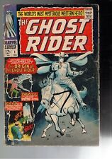 The Ghost Rider #1 2.0 GD 1967 First Carter Slade