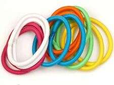 Bright Colour Snag Free Hairband Hair Elastics Bobbles No Metal