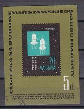 Polen 1963 Vignette von MiNr. 1444 Motiv Raumfahrt