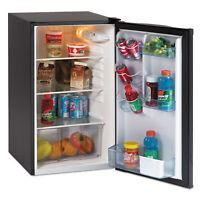"""Avanti 4.4 CF Auto-Defrost Refrigerator 19 1/2""""w x 22""""d x 33""""h Black AR4446B"""