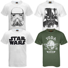 Star Wars Force Awakens Official Darth Vader Yoda Kylo Ren Mens T-Shirt